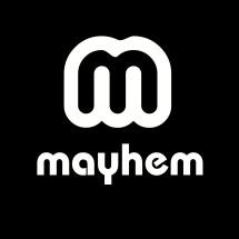 Logo mayhem stocklot