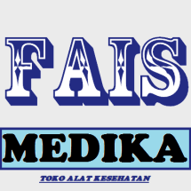 Logo toko alat kesehatan fais