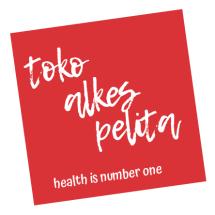Logo Toko Alkes PELITA