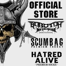 Logo HATRED ALIVE METAL STORE