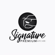 Logo Signature Auto Care