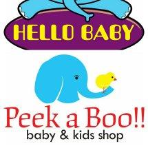 peekaboo hellobaby Logo