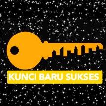 Logo kunci baru sukses