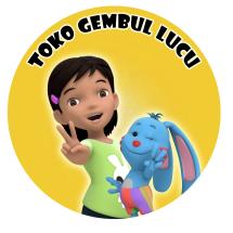 Logo Toko Gembul Lucu
