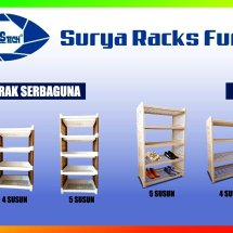 Surya Racks Furniture Logo