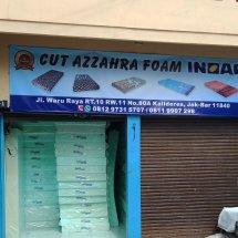 cut azzahra shop Logo