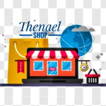 Logo Thenael Shop