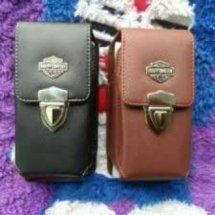 Logo SH leather case