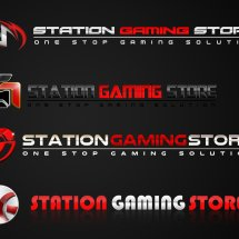 Logo Station Gaming Store