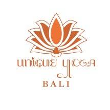 Logo unique yoga bali