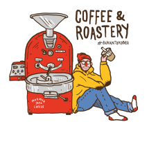 Logo Makmur Jaya Coffee Roast