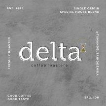 Logo Taman Delta Coffee Roastery (Supplier Kopi)