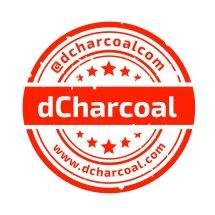 d'Charcoal dot com Logo