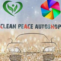 Logo cleanpeace auto shop