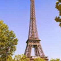 Blue Eiffel Logo