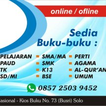Logo toko buku agus solo