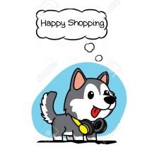 Logo Husky'shop