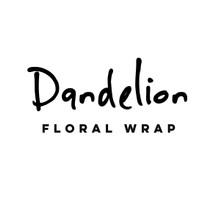 Logo Dandelion Floral Wrap