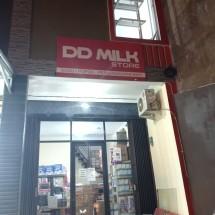 Dede milk store Logo