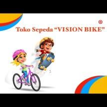 Logo toko sepeda Vision Bike
