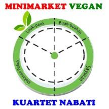 Minimarket Vegan Logo