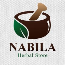 nabila herbal store Logo
