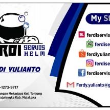Logo ferdi servis helm