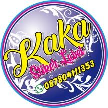 Logo stiker kaka label