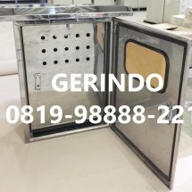 Logo Panel Stainless Indo