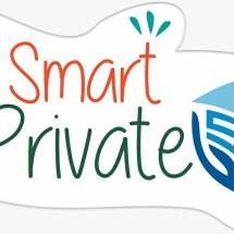 e Smart Private Logo
