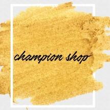Logo Champion Shop