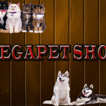 Megapet shop Logo
