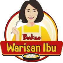Logo Bakso Warisan Ibu JKT