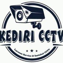 Logo KEDIRI CCTV (K-CV)