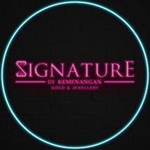 Logo SIGNATURE gold jewellery