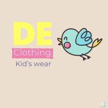DE CLOTHING Logo