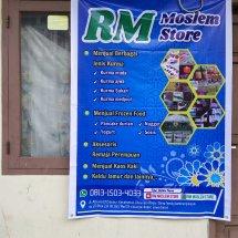 Logo RM moslem store