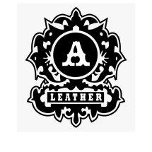 Logo Aura leather