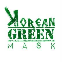 Logo Korean Green Mask