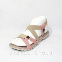 Logo violet shoes