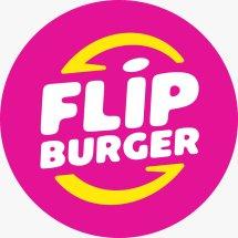 Logo Flip Burger