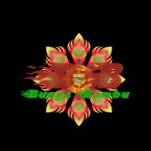 bunga bambu / pring Logo