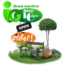 ibad garden Logo