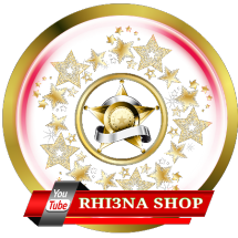 Logo Rhi3na Shop
