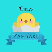 Logo toko zahraku