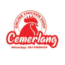 Online Chicken Shop Logo