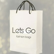 Logo letsgo fashion bags