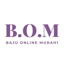 B.O.M baju Online murah1 Logo