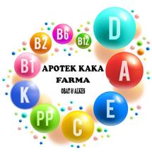 APOTEK KAKA FARMA Logo