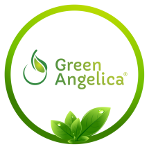Green Angelica Herbal Logo